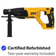 "DEWALT 20V MAX XR 1"" Rotary Hammer DCH133BR (Tool Only) Certified Refurbished"