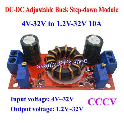 DC-DC 10A 4-32V To 1.2-32V Adjustable CVCC Buck Step-down Power Supply Module