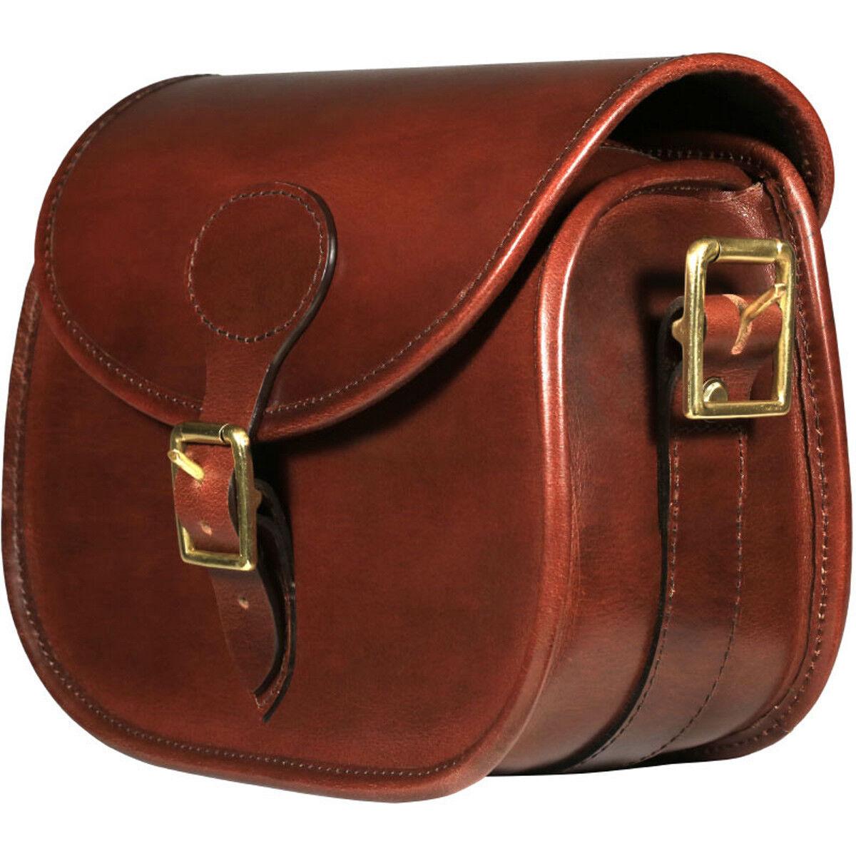 Teales Premier Premium Leather Cartridge Shooting Bag 100 Shells FREE P&P NEW