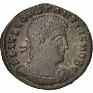 Constantius Ii 324-361 Ric 186 A Great Variety Of Models #401900 Thessalonica Romantic Follis