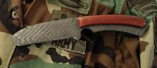 HANDMADE TACTICAL COMBAT KNIFE BUCK TOPS CSAR-T
