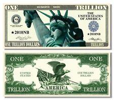 15 Factory Fresh Novelty Liberty Eagle Trillion Dollar Bills