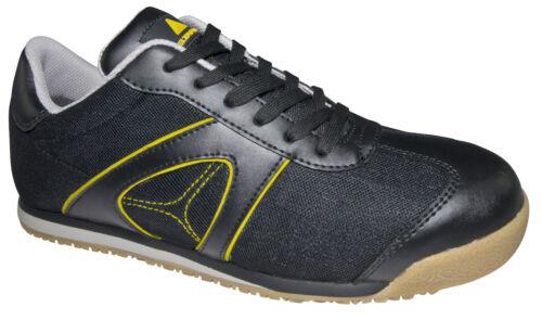 Delta Zapatillas hombre Plus negras cuero D de Spirit S1p seguridad para de rcqYr04w