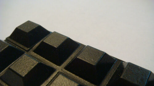 "56 SELF-ADHESIVE SQUARE BUMPERS 0.81/"" x 0.3/"" BLACK SQUARE BUMPER FEET SAMPLES"