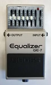 BOSS-GE-7-Equalizer-Guitar-Effects-Pedal-made-in-Japan-1989-223-Free-Shipping