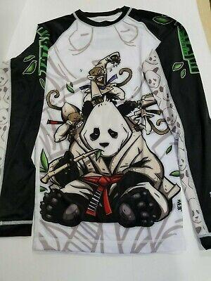 Tatami Chess Gorilla Grappling MMA BJJ Jiu Jitsu Long Sleeve LS Rashguard