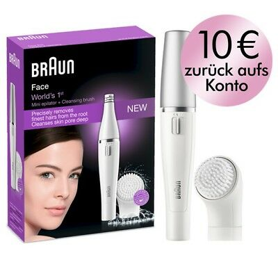 Braun FACE 810 Gesichtsreinigungsbürste und -epilierer, neu/OVP