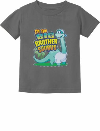 Big Brother Saurus Cute Gift for Big Brothers Toddler//Infant Kids T-Shirt Older