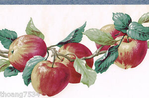 Image Is Loading Fruit Red Apple Apples Die Cut Kitchen Country