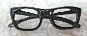 Cool-Black-Eye-Glass-Eyeglasses-Pin-Back-Button-Souvenir-7-8-034