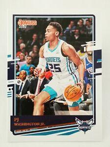 Panini Donruss 2020-21 N14 NBA trading card base #63 Hornets PJ Washington Jr.