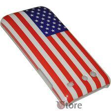 Cover Per SAMSUNG Galaxy S Advance i9070 Bandiera America Americana + Pellicola