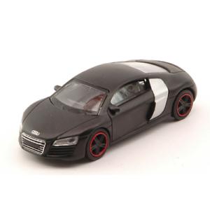 AUDI-R8-CONCEPT-BLACK-SCHUCO-QUALITY-1-64-Schuco-Auto-Stradali-Die-Cast