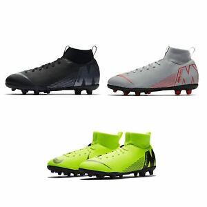 Nike-MERCURIAL-SUPERFLY-Club-DF-TERRA-FERMA-SCARPE-DA-CALCIO-JUNIOR-CALCIO-Cunei
