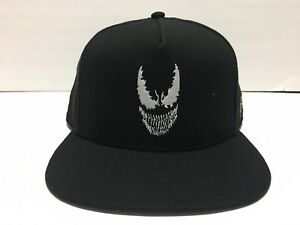 VANS x MARVEL Venom Logo Black Hat Snapback Mens NEW! 100% Authentic ... c28d256092b