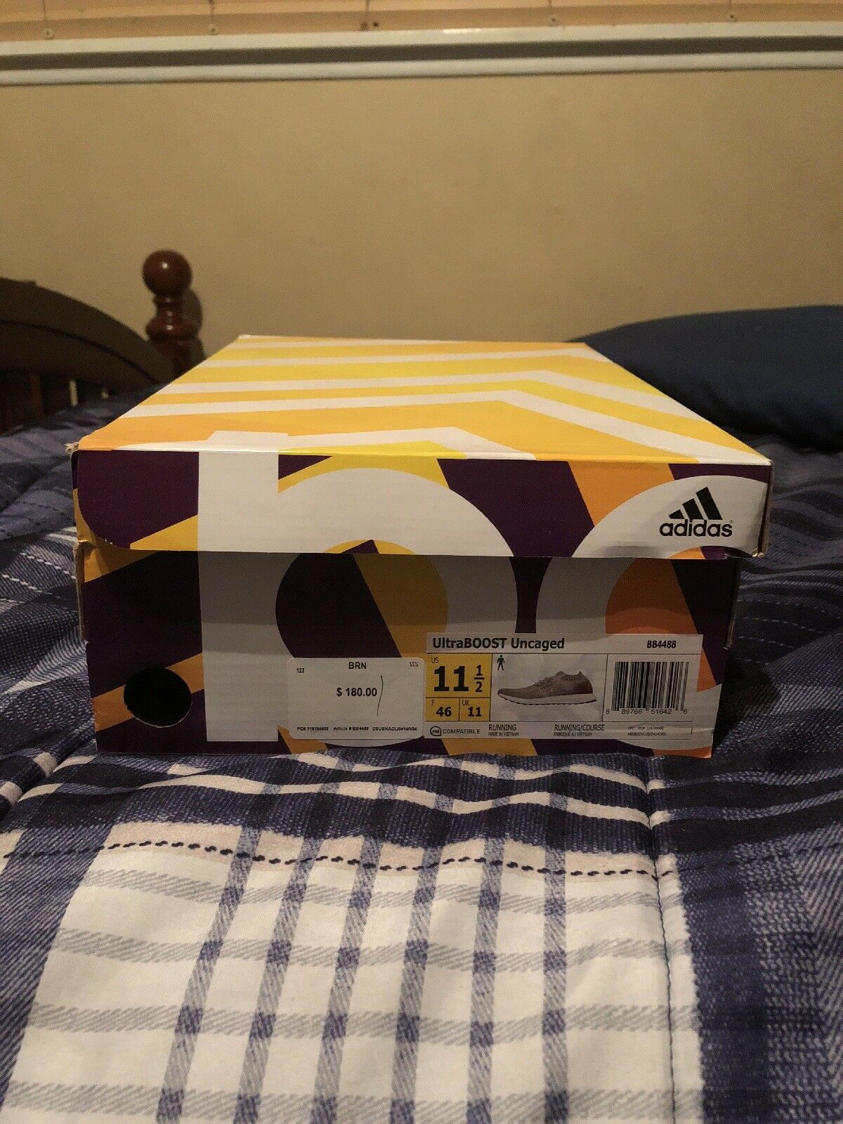 2bd03685c ultra uncaged Size 11.5 Adidas boost ntlekf5024-Athletic Shoes ...