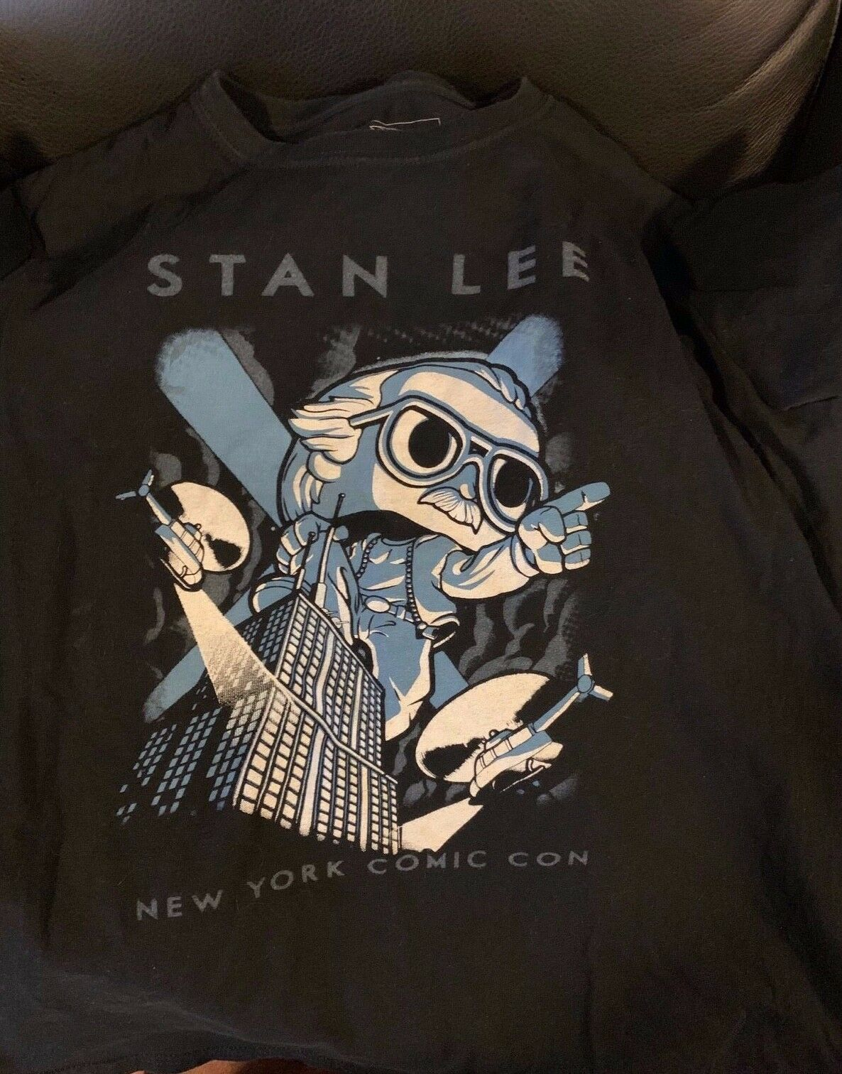 STAN LEE NYCC COMIC CON 2015 EXCLUSIVE FUNKO POP SHIRT M ONLY 250 MADE KING KONG