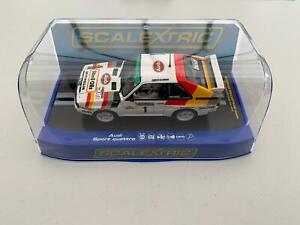 Scalextric-C3500-Audi-Sport-Quattro-1986-Welsh-Rally-H-Mikkola