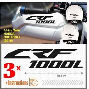 3x-CRF-1000-L-Nero-Africa-Twin-HONDA-2016-ADESIVI-CRF1000-L-CRF1000L-moto-casco