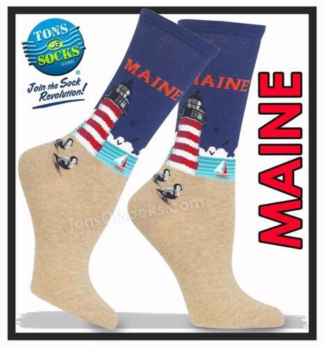 Women/'s Maine Socks