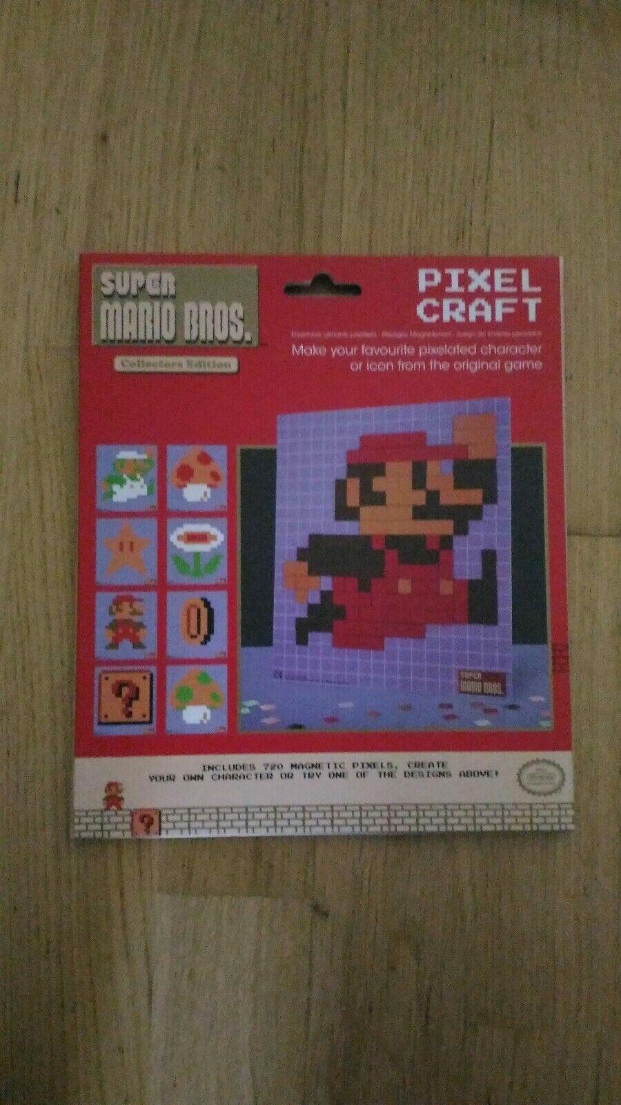 Super Mario Pixel Mosaik Steckspiel