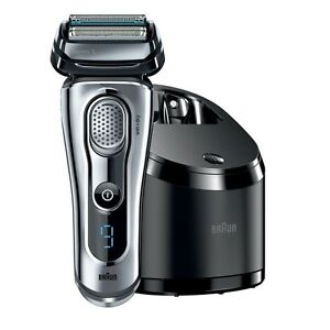Braun-Series-9-9095cc-shaver-Wet-amp-Dry-with-Clean-amp-Charge-Station-BRAND-NEW
