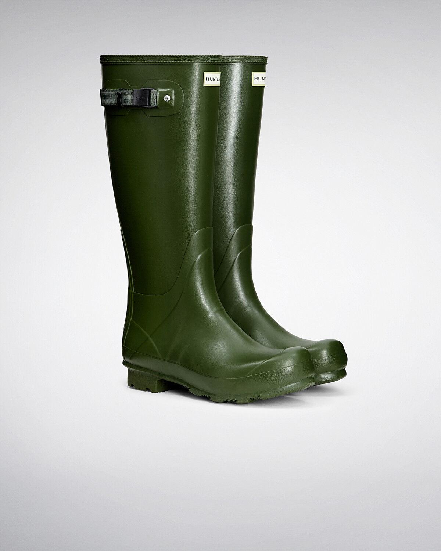 hunter bottes wellington bottes     original norris vert taille 8 ue 42 | Pas Cher  ea2222