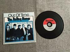 Rolling Stones CD Single Out of Time / Jiving Sister Fanny Card Sleeve