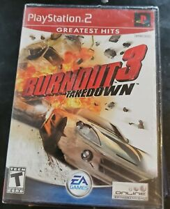 Unopened burnout 3 takedown play station 2
