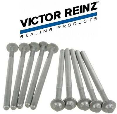 Mercedes Benz W203 C230 Front Engine Cylinder Head Bolt Set Reinz 2710160369 New