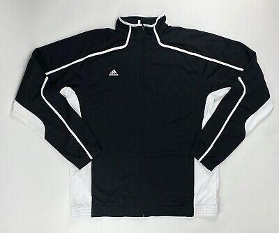 Adidas Pro Team Basketball Warm Up Zip Jacket Men/'s 2XL 3XL Tall Black White