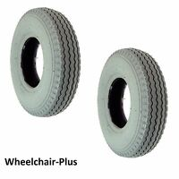 2.80/2.50-4 (9x3) Foam Filled Mobility Tires With Power Edge Sawtooth Tread