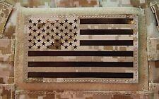 "Large Infrared NWU II IR US Flag Patch 5"" x 3"" US Navy SEAL NSW DEVGRU ST6 AOR1"