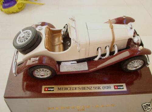 BBURAGO MERCEDES BENZ SSK 1928 ITALY CODE 3509 WOOD