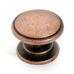 Image Is Loading Antique Copper Cabinet Hardware Knobs 80980