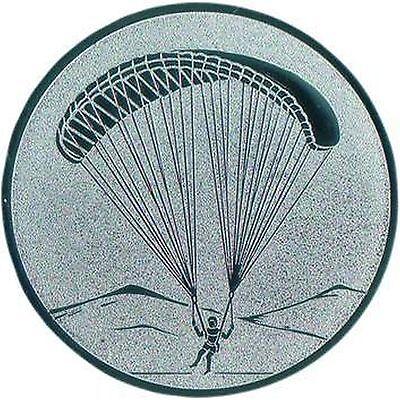 100 Fallschirmspringer Embleme gold D:50mm (Fliegen für Medaillen Pokale Pokal)