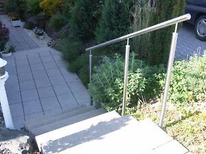 Handlauf Mit Pfosten Befestigung Seitlich Balkon Treppe Brustung