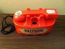 VINTAGE MARX BATMAN BATPHONE HOT-LINE PHONE 1966