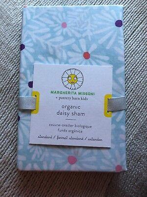 1 Pottery Barn Kids Margherita Missoni Organic Standard Daisy sham NWT