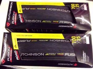 Pair Hutchinson Fusion 5 Storm All Season Tubeless Tyres 700x25c - Liphook, United Kingdom - Pair Hutchinson Fusion 5 Storm All Season Tubeless Tyres 700x25c - Liphook, United Kingdom