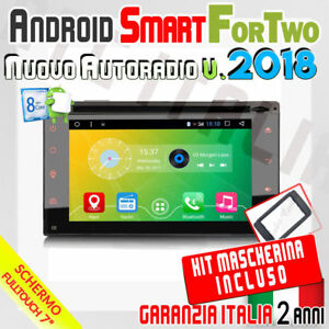 AUTORADIO-7-034-Android-6-0-FullTouch-SMART-FOR-TWO-2007-2010-Bluetooth-Dab-DVD