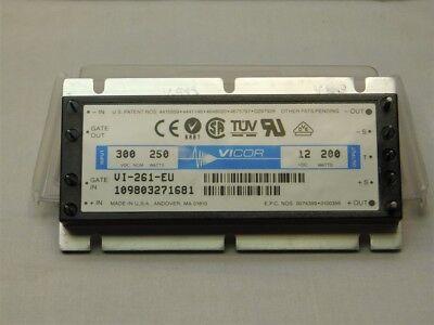 Power Supply  VICOR V1-261-EU 300vdc 250w 12vdc 200w