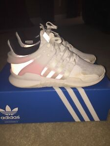 Details about Adidas Originals EQT Support ADV Equipment Sneaker BB2791 White Turbo Pink Sz 6