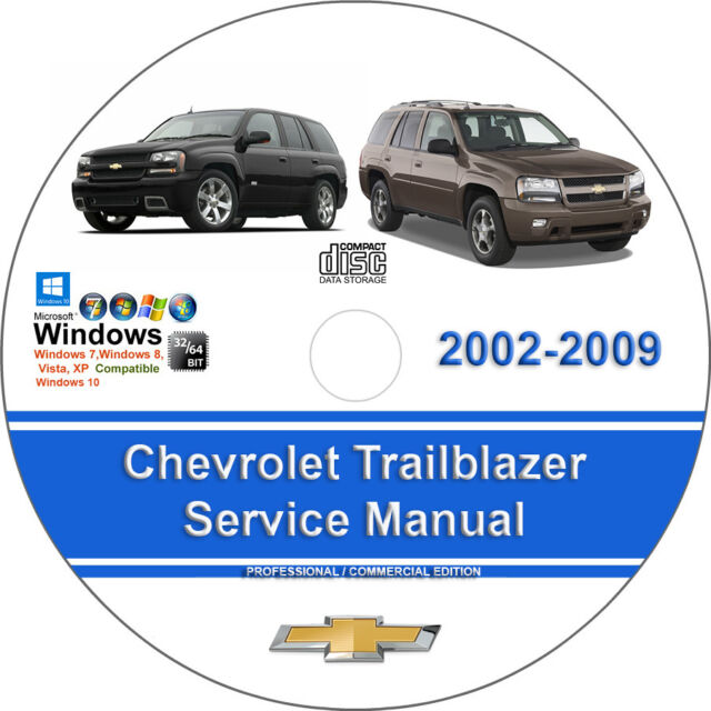 Chevrolet Trailblazer 2003 2004 Manual Guide
