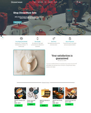 Dinnerware Products Online Dropship Website Business For Sale Marketing Guide