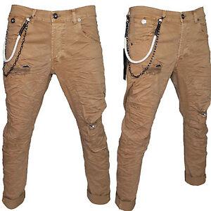 93492493a241e3 Caricamento dell'immagine in corso Pantaloni-Uomo-Klixs-Jeans -Mod-Kevin-Cavallo-Basso-