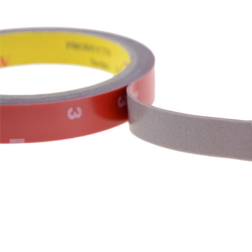 Strong Permanent Double-Sided Sticky Adhesive Glue Tape With Red Liner 3 m OF