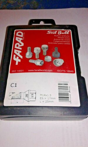 Lancia Phedra dal 2003/> Kit Bulloni Antifurto Stil-Bull Farad per Cerchi Acciaio