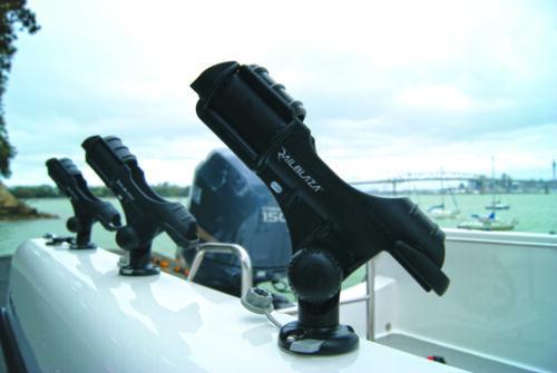 02-4020-11 schwarz Railblaza Rod Holder II Rutenhalter Angelrutenhalter Boote
