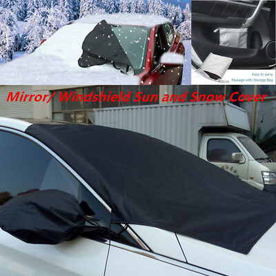 For SEAT LEON ST 14-ON CAR WINDSCREEN FROST COVER ICE SNOW DUST PROTECTOR